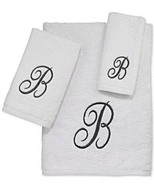 Monogram Silver Script 3-Pc. Towel Set