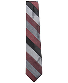 Ryan Seacrest Distinction™ Men's Audio Melange Stripe Tie, Created for Macy's