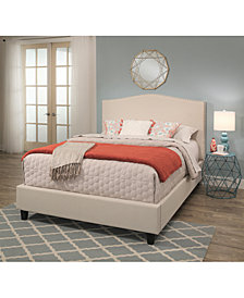 Kallie Upholstered Bed Collection, Quick Ship