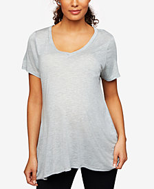 A Pea In The Pod Maternity Scoop-Neck T-Shirt