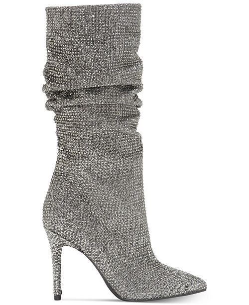 466e712fd34 Jessica Simpson Layzer Slouchy Rhinestone Boots   Reviews - Boots ...