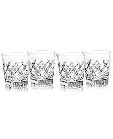 Waterford Eastbridge Double Old Fashion Glasses, Set of 4, Created For Macy's