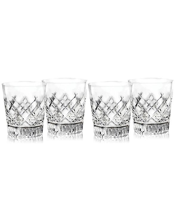 Waterford Eastbridge Double Old Fashion Glass Set of 4