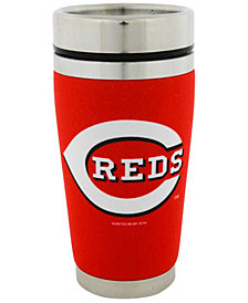 Hunter Manufacturing Cincinnati Reds 16oz Stainless Steel Travel Tumbler