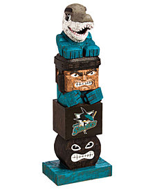 Evergreen Enterprises San Jose Sharks Tiki Totem