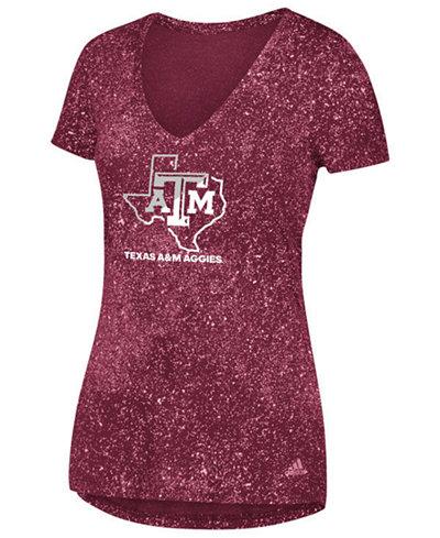 adidas Women's Texas A&M Aggies Logo Stack T-Shirt