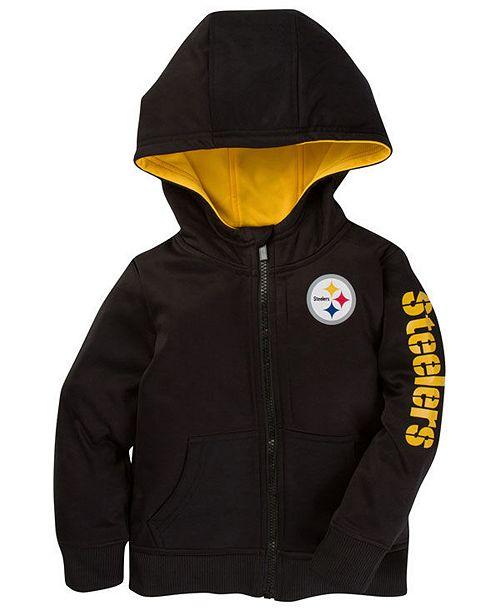 on sale 5b78a f0820 Pittsburgh Steelers Zip Hoodie, Infants (12-24 months)