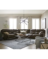 3a3c1c4cb6171 Summerbridge Leather Sectional Sofa Collection with Power Recliners