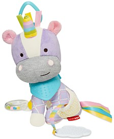 Skip Hop Bandana Buddies Unicorn Activity Toy, Baby Girls