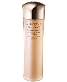 Shiseido Benefiance WrinkleResist24 Balancing Softener Enriched, 5 oz.