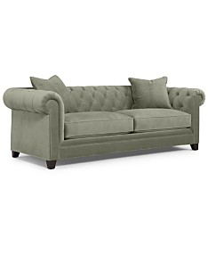 Cool Gray Tufted Sofas Couches Macys Interior Design Ideas Gentotthenellocom