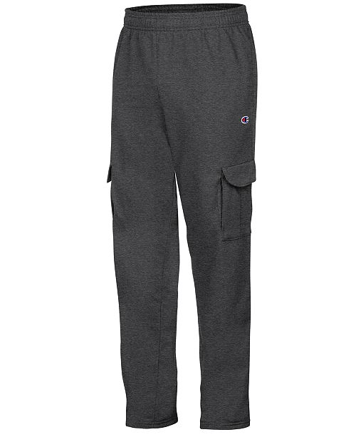 1900b8d31990f Champion Men s Powerblend Fleece Cargo Pants  Champion Men s Powerblend  Fleece Cargo ...
