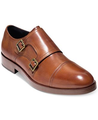 Henry Grand Double Monk-Strap Leather Loafers