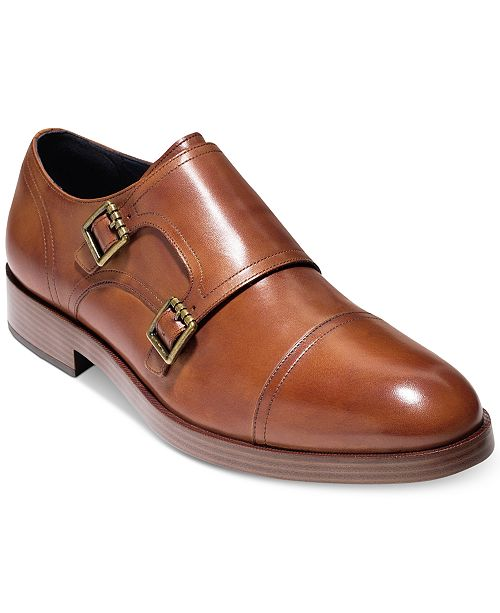 Cheap Choice Henry Grand Double Monk-Strap Leather Loafers Outlet Where To Buy RjAZpY