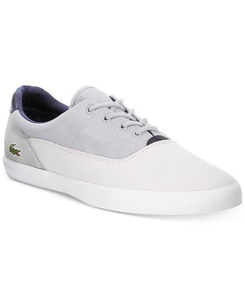 ebcaeeeab Lacoste Men s Jouer 217 1 Cam LT G Sneakers   Reviews - All Men s ...