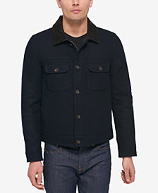 Tommy Hilfiger Men's Navy Trucker Jacket