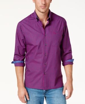 Tommy Bahama Men's Mazagan Checkered Pima Cotton Shirt