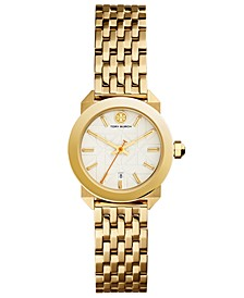 Women's Whitney Gold-Tone Stainless Steel Bracelet Watch 28mm