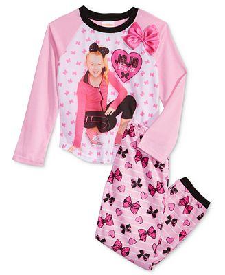 Nickelodeon S 174 Jojo Siwa 2 Pc Pajama Set Little Girls