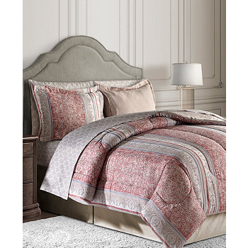 Sunham Blakely 8Pc. Reversible Bedding Ensembles