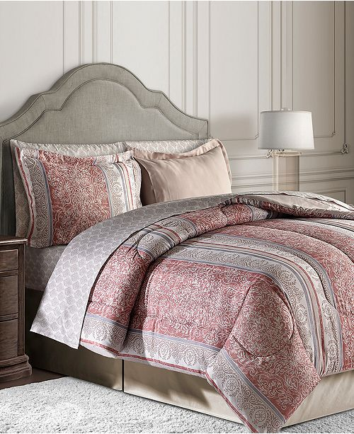 Fairfield Square Collection Blakely 6-Pc. Twin Reversible Bedding Ensemble