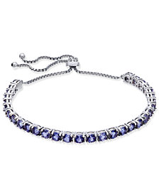 Iolite Slider Bracelet (5-1/2 ct. t.w.) in Sterling Silver