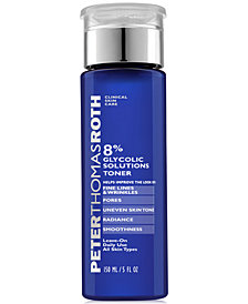 3 Pack - Peter Thomas Roth 8% Glycolic Solutions Toner 5 oz Noxzema Original Deep Cleansing Cream 2 oz (Pack of 3)