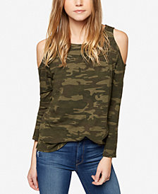 Sanctuary Lolita Cold-Shoulder Top