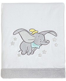 Dumbo Dream Big Fleece Blanket With Applique