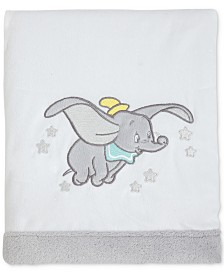 Disney Dumbo Dream Big Fleece Blanket With Applique