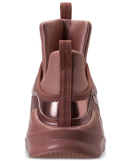 pretty nice 3b408 b2975 ... Puma Women s Fierce Copper Velvet Rope Training Sneakers from Finish ...