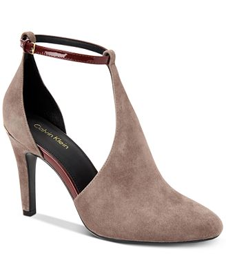 Calvin Klein Women's Cherilyn Ankle-Strap Pumps