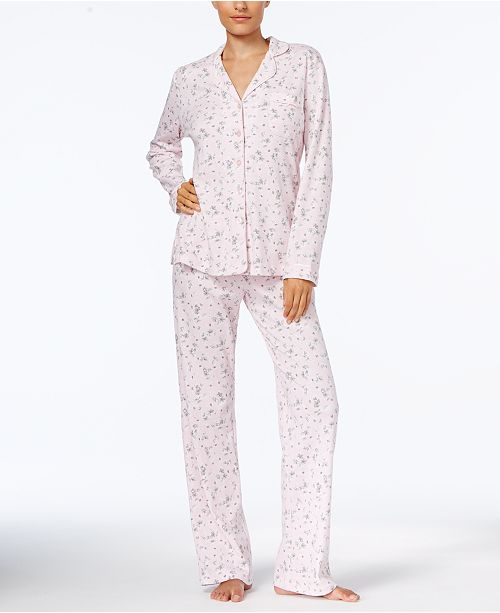 a4ea967fd9 ... Charter Club Printed Cotton Pajama Set