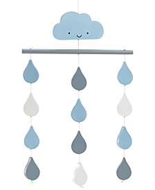 Little Love by NoJo Happy Little Clouds Ceiling Mobile