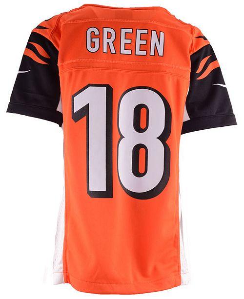 a890d709c Nike A.J. Green Cincinnati Bengals Game Jersey