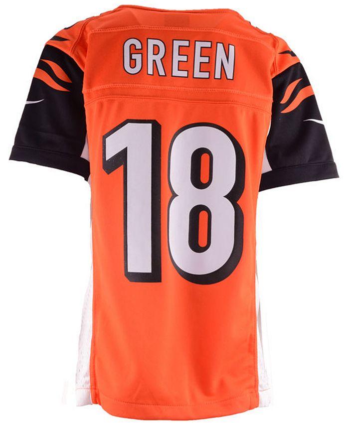 Nike A.J. Green Cincinnati Bengals Game Jersey, Big Boys (8-20 ...