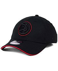 New Era Atlanta Hawks Black Pop 39THIRTY Cap