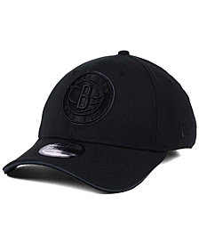 New Era Brooklyn Nets Black Pop 39THIRTY Cap