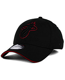 New Era Miami Heat Black Pop 39THIRTY Cap