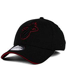 New Era Miami Heat Black Pop 39THIRTY Cap