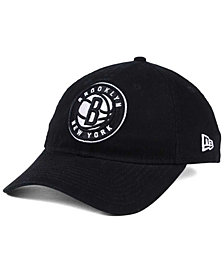 New Era Brooklyn Nets Black White 9TWENTY Cap