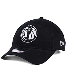 New Era Dallas Mavericks Black White 9TWENTY Cap