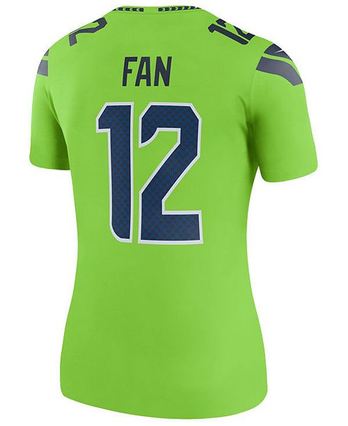 sale retailer 30f18 70abd Women's Seattle Seahawks Color Rush Legend Jersey