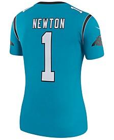 Women's Cam Newton Carolina Panthers Color Rush Legend Jersey