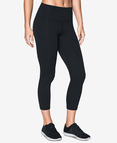 Under Armour Mirror Studiolux 174 High Rise Cropped Leggings