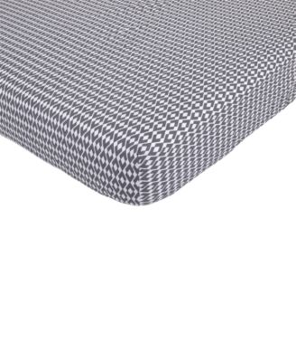 Southwest Skies  100% Cotton Geo-Print Fitted Crib Sheet