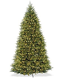 10' Dunhill® Fir Full-Bodied & Hinged Tree With 1200 Clear Lights