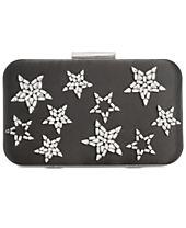 Anna Sui x INC International Concepts Rhinestone Star Clutch, Created for Macy's