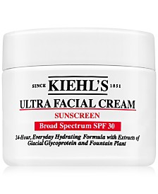 Kiehl's Since 1851 Ultra Facial Cream Sunscreen SPF 30, 4.2-oz.