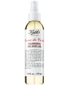 Kiehl's Since 1851 Creme de Corps Nourishing Dry Body Oil, 5.9-oz.